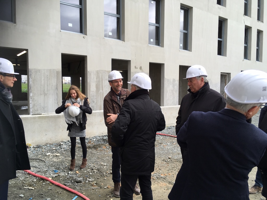 Maitre D Oeuvre Cholet alter - la résidence étudiante cap west en chantier